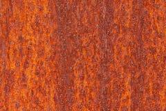 Rostige Stahlplatte Stockfoto