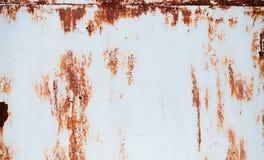 Rostige Wand, Gebrauch als Hintergrund Lizenzfreies Stockfoto