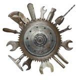 Rostige Werkzeuge Stockfotos