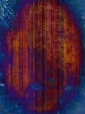 Rostiger blauer Schmutzhintergrund Stockbilder