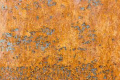 Rostiger Eisenhintergrund Stockbild