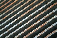 Rostiger Grillhintergrund Stockfoto