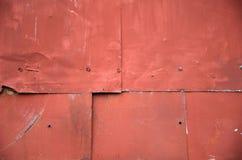 Rostiger Hintergrund der Weinlese Metall Stockfotos