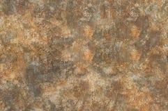 Rostiger Hintergrund des Schmutzes, Aquarellillustration Lizenzfreie Stockfotografie