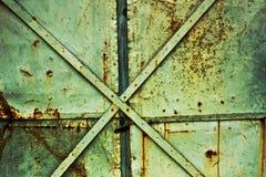 Rostiger industrieller Hintergrund Stockbild