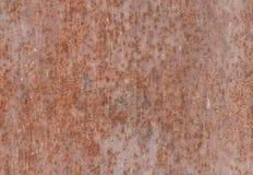 Rostiger Metallbeschaffenheitshintergrund Lizenzfreies Stockbild