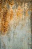 Rostiger Metallbeschaffenheitshintergrund stockfoto