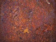 Rostiger Metallbeschaffenheitshintergrund, -rost und -kratzer stockfotos