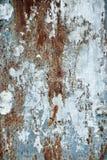 Rostiger Metallhintergrund Stockbild