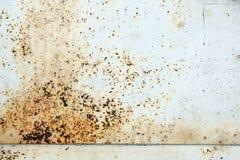 Rostiger Metallhintergrund Lizenzfreie Stockfotografie