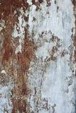 Rostiger Metallhintergrund Stockfoto