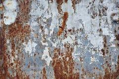 Rostiger Metallhintergrund Lizenzfreies Stockfoto
