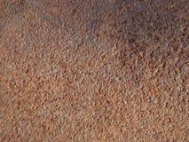 Rostiger Metallhintergrund Lizenzfreie Stockfotos