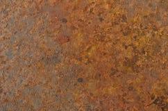 Rostiger metallischer Hintergrund lizenzfreies stockbild