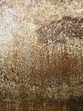 Rostiger Metallschmutzhintergrund Stockfotografie