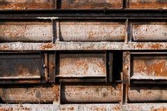 Rostiger Stahl Lizenzfreies Stockbild
