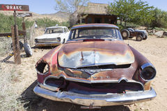 Rostiges altes Auto Lizenzfreie Stockfotos