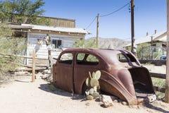 Rostiges altes Auto Lizenzfreies Stockfoto