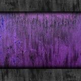 Rostiges altes des purpurroten Rosts des Beschaffenheitshintergrundes Metall Lizenzfreies Stockbild