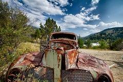 Rostiges Auto 1 Lizenzfreie Stockfotografie
