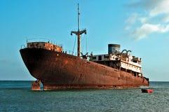 Rostiges Boot Stockfotografie