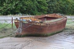 Rostiges Boot Stockfoto