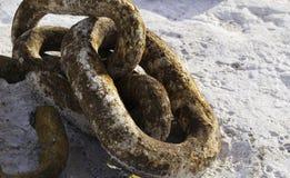 Rostiges Chain 1 Lizenzfreies Stockbild