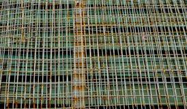 Rostiges Eisennetz Lizenzfreies Stockfoto