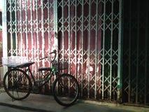 Rostiges Fahrrad Lizenzfreies Stockbild