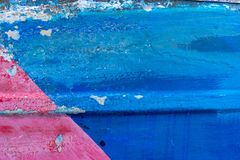 Rostiges farbiges Metall der Nahaufnahme, abstrakter Schmutz korrodierte Stahlhintergrund, metallischen Hintergrund der Retro- We lizenzfreie stockfotografie