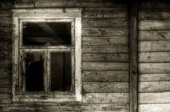 Rostiges Fenster Lizenzfreie Stockfotografie