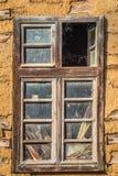 Rostiges Fenster Stockbild