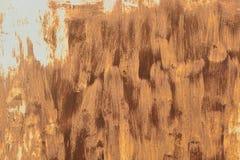 Rostiges Garagentor- oder Eisenblatt Stockfoto