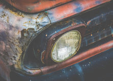Rostiges LKW-Detail stockbild