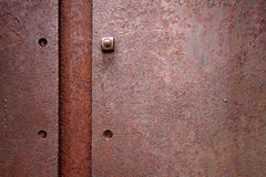Rostiges Metall lizenzfreie stockfotografie