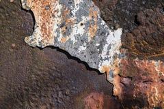 Rostiges Metall Stockfoto