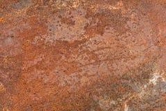 Rostiges Metall Abstrakter Hintergrund, Vektor stockfoto