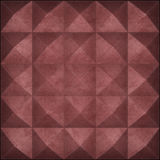 Rostiges Metall befestigte Pyramiden als Hintergrund vektor abbildung