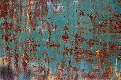Rostiges Metall gemasert Stockfotos