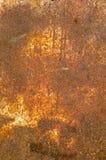 Rostiges Metallplatten. Lizenzfreies Stockfoto