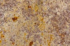 Rostiges Metallstück Stockfoto