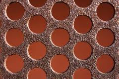Rostiges Muster der Hintergrundbeschaffenheit Metall Stockfoto