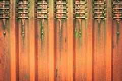 Rotes Metall stockbilder