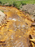 Rostiges Wasser Stockfoto