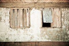 Rostiges Windows Stockbilder