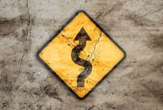 Rostiges Zeichen der Wicklungmethode Lizenzfreie Stockbilder