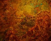 rostigt bakgrundsjärn Royaltyfria Bilder