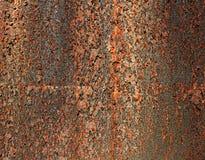 Rostigt corten stålbakgrund royaltyfri bild