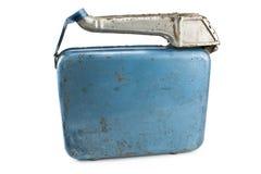 rostigt för jerry lock för bensin kan gammalt Arkivbild