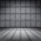 Rostigt golv för stålplatta stock illustrationer